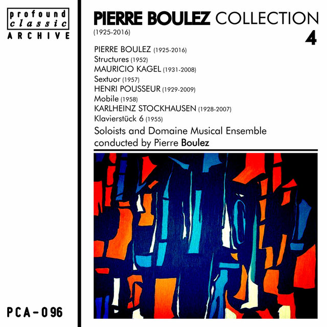 Pierre Boulez Collection, Vol. 4