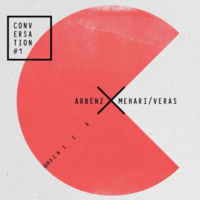Cover art for album Conversation #1: Condensed by Florian Arbenz, Nelson Veras, Hermon Mehari
