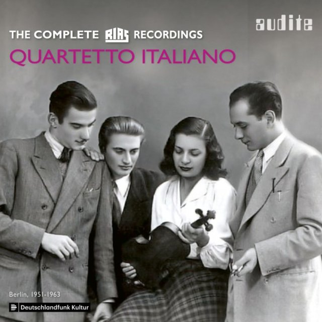 Quartetto Italiano: The complete RIAS Recordings (Berlin, 1951-1963)