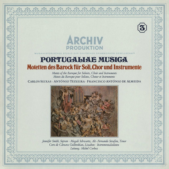 Portugaliae Musica: Motets Of The Baroque For Solioists, Choir And Instruments