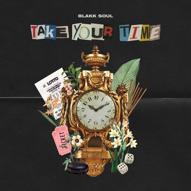 Cover art for album Take Your Time by Blakk Soul