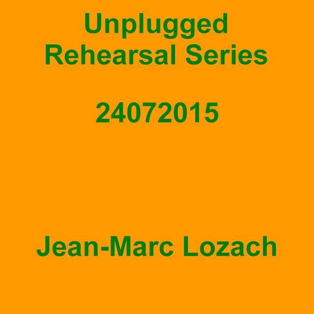Unplugged Rehearsal Series 24072015