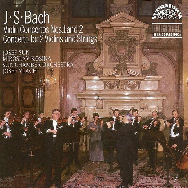 Bach: Violin Concertos Nos. 1 & 2, Concertos For 2 Violins And Strings