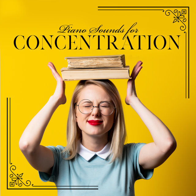 Piano Sounds for Concentration - Instrumental Jazz Music Thanks to Which it is Easier to Remember Information Needed to Pass Exams, Brain Stimulation, Intense Study Session