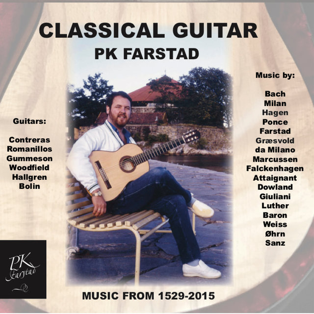 Classical Guitar, Music from 1529-2015