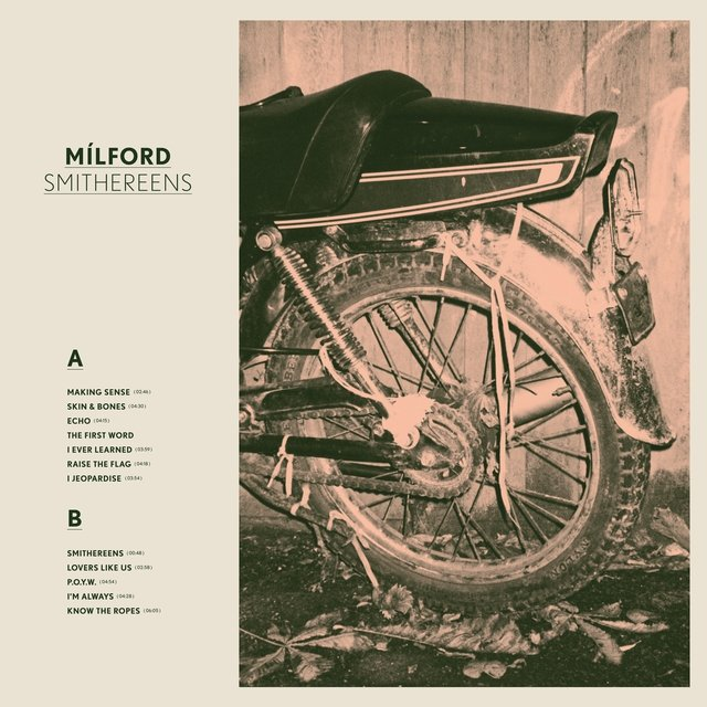 Cover art for album Smithereens by Mílford