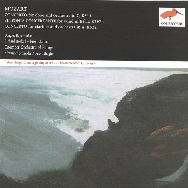 Mozart: Oboe Concerto in C; Sinfonia Concertante in E flat; Clarinet Concerto in A
