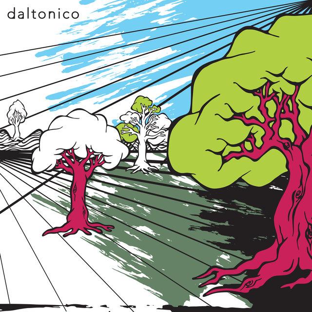 Cover art for album Daltonico by Antonio Paone