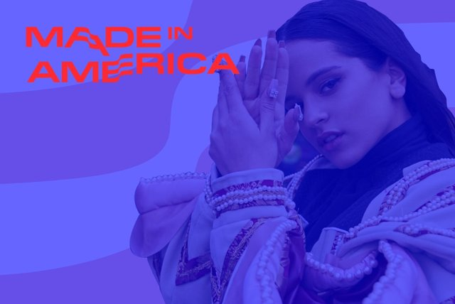 Cover art for album  by Rosalía, Made In America 2019