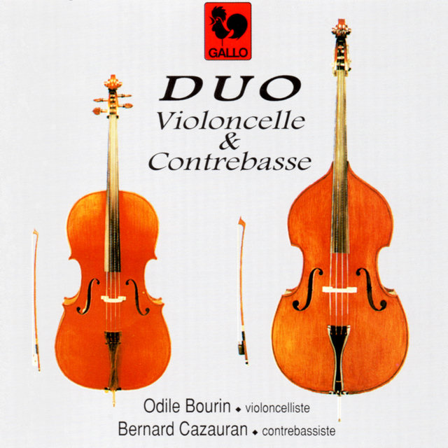 Genzmer - Franchomme - Boukinik - Lindner - Rossini: Pieces for Cello and Double Bass
