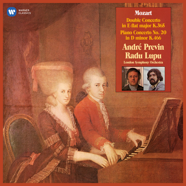 Mozart: Concerto for Two Pianos, K. 365 & Piano Concerto No. 20, K. 466