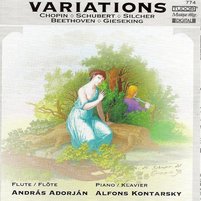 Variations: Works for Flute & Piano