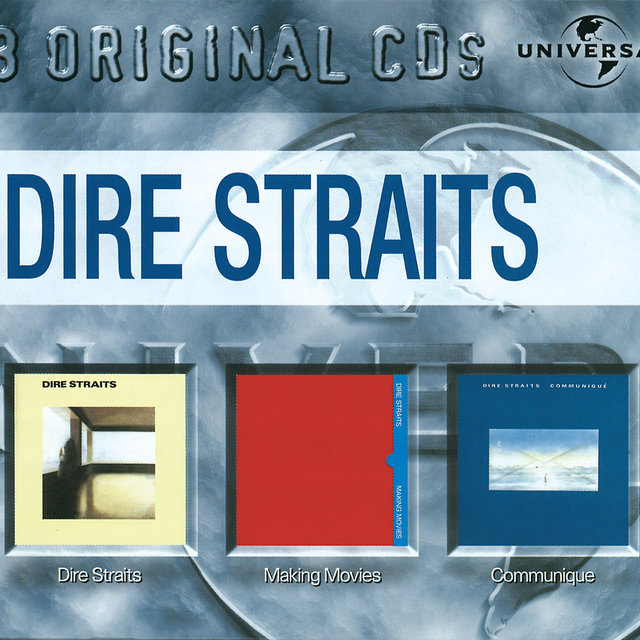 Dire Straits 3 Original CD's (Remastered Version)