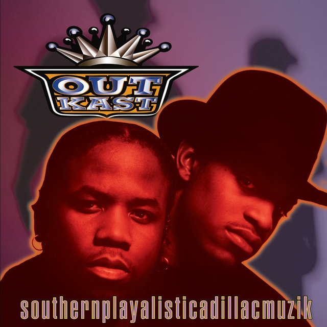 Cover art for album Southernplayalisticadillacmuzik by Outkast