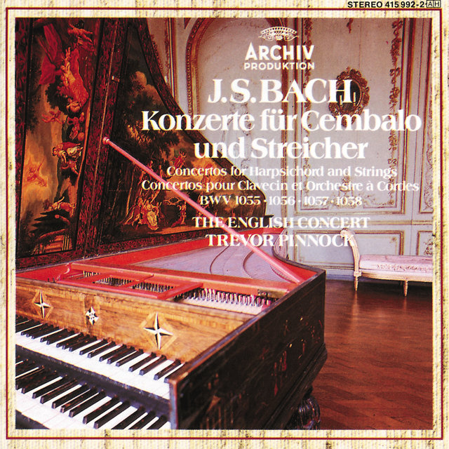 Bach, J.S.: Concertos for Harpsichord and Strings