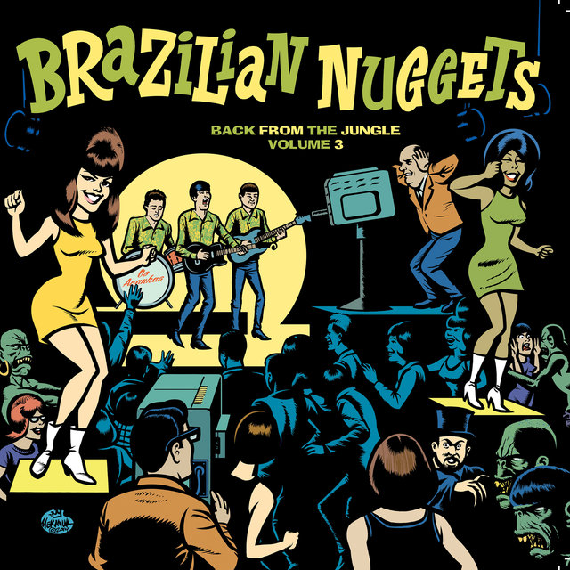 Brazilian Nuggets: Back From The Jungle (Vol. 3)