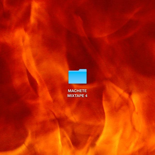 Cover art for album MACHETE MIXTAPE 4 by Machete