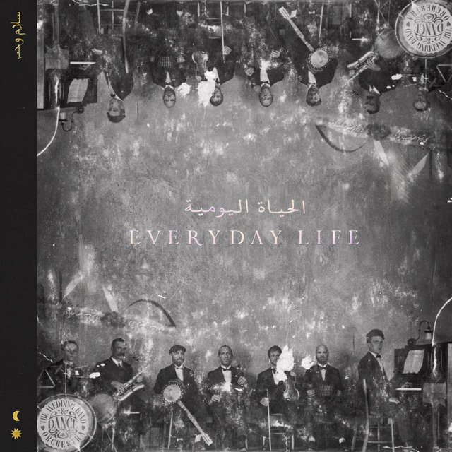 Cover art for album Everyday Life by Coldplay