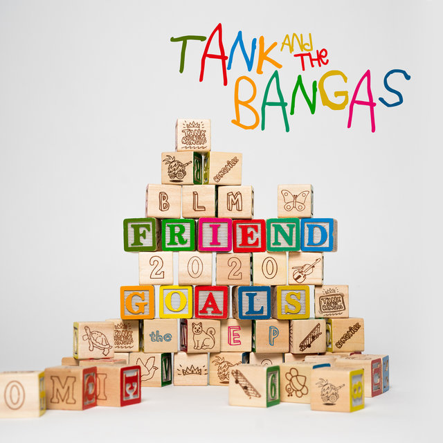 Cover art for album Friend Goals by Tank and The Bangas