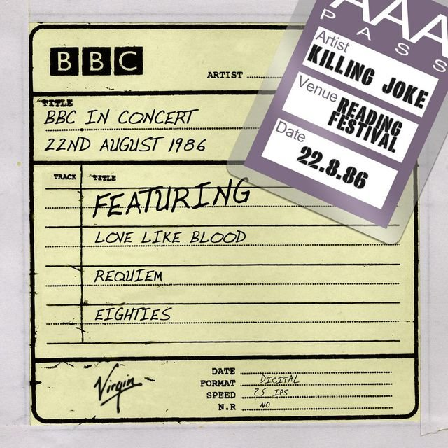 BBC In Concert (22nd August 1986)