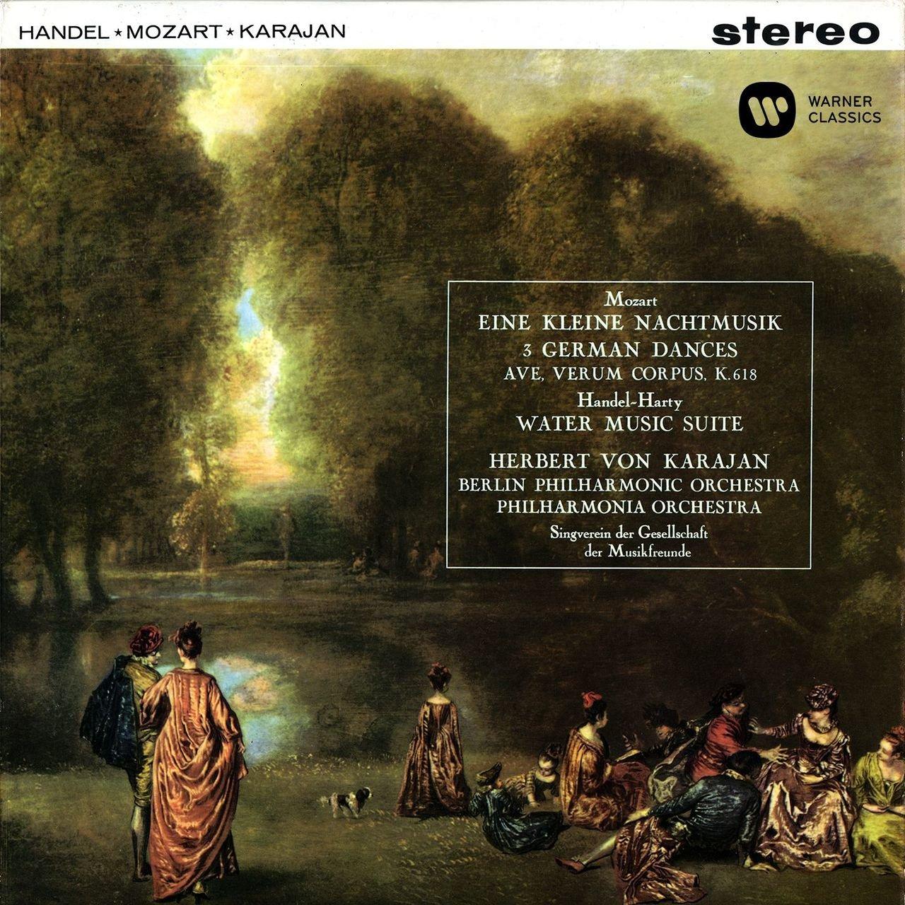 Mozart: Serenade No. 13, Ave verum corpus, German Dances - Handel ...