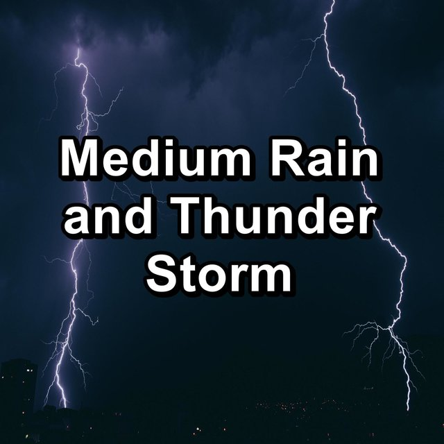 Medium Rain and Thunder Storm