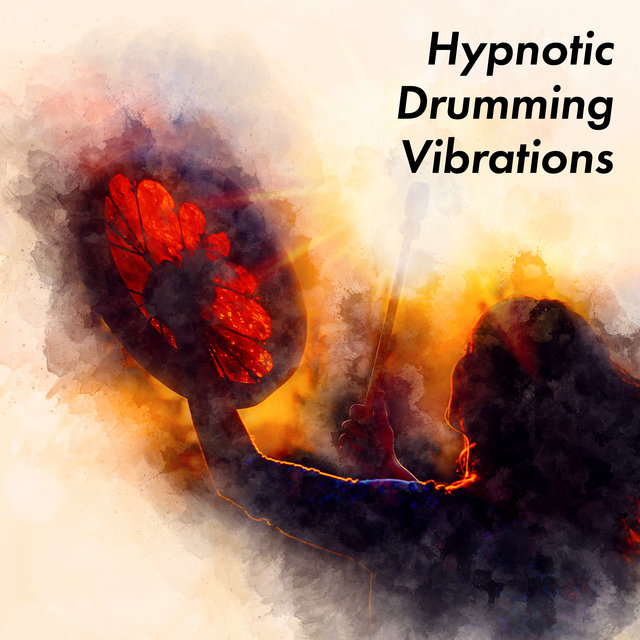 Hypnotic Drumming Vibrations – Native American Music Collection for Relaxation, Shamanic Ambient Melodies, Magic, Trance