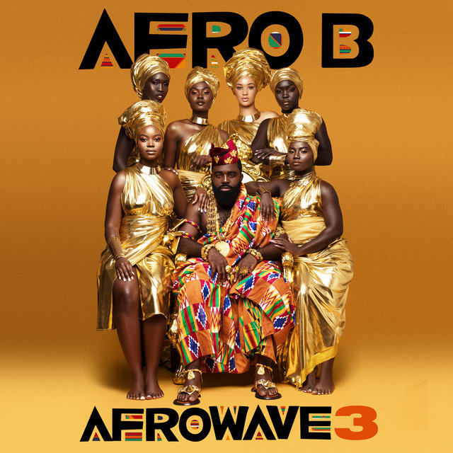 Cover art for album Afrowave 3 by Afro B
