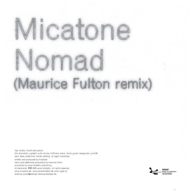 Remixes by Maurice Fulton & Eva Be