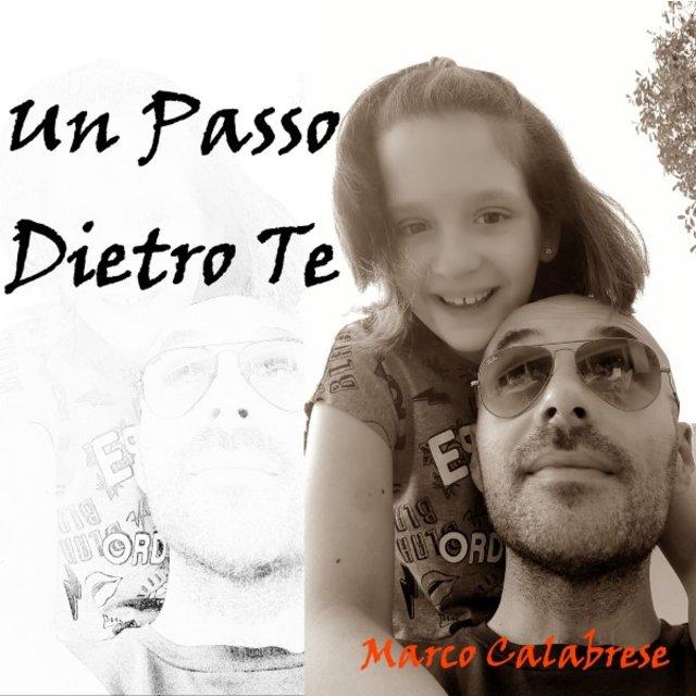 Cover art for album Un passo dietro te by Marco Calabrese