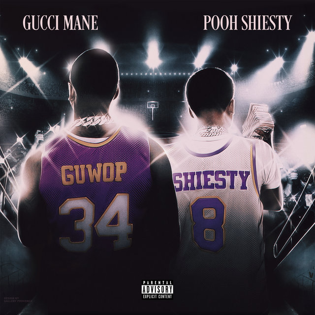 Cover art for album Like 34 & 8 (feat. Pooh Shiesty) by Gucci Mane, Pooh Shiesty