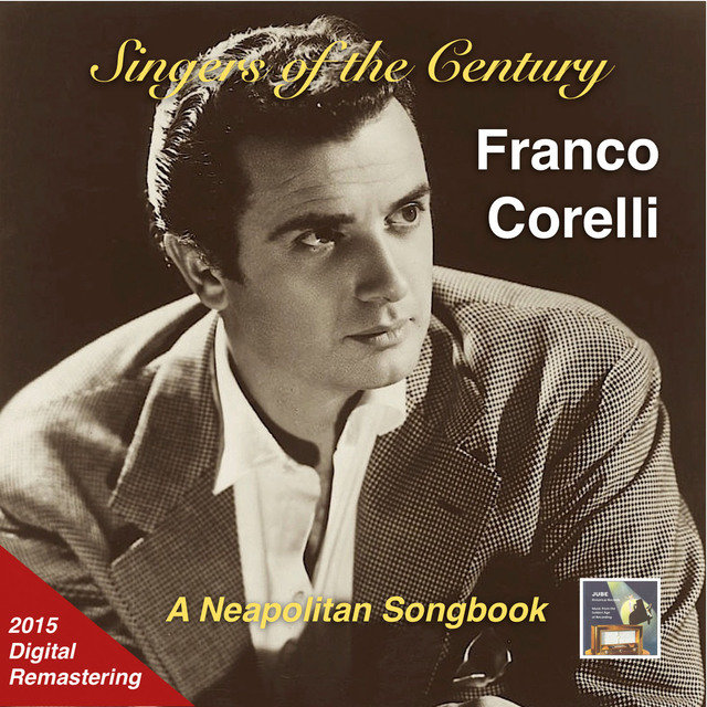 Singers of the Century: Franco Corelli – A Neapolitan Songbook (Remastered 2015)