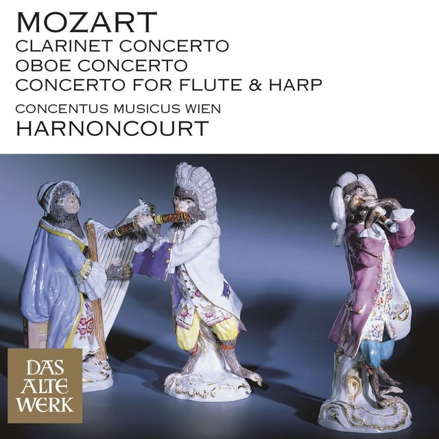 Mozart: Clarinet Concerto, Oboe Concerto & Concerto for Flute and Harp