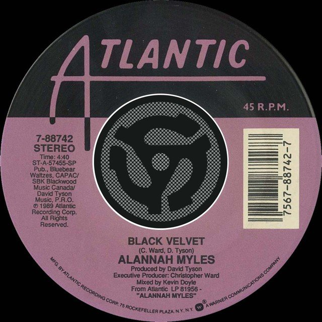 Black Velvet / If You Want To [Digital 45]