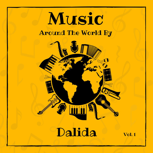Music Around the World by Dalida, Vol. 1