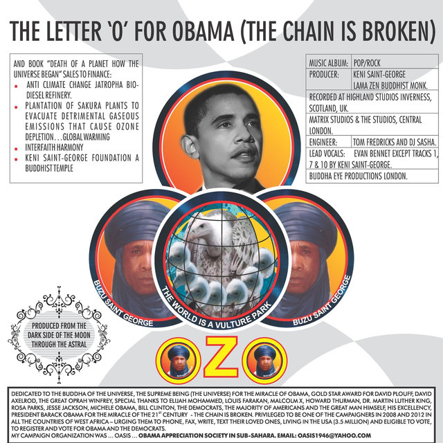 The Letter ' O' for Obama (The Chain Is Broken)