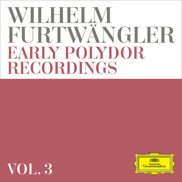 Wilhelm Furtwängler: Early Polydor Recordings (Vol. 3)