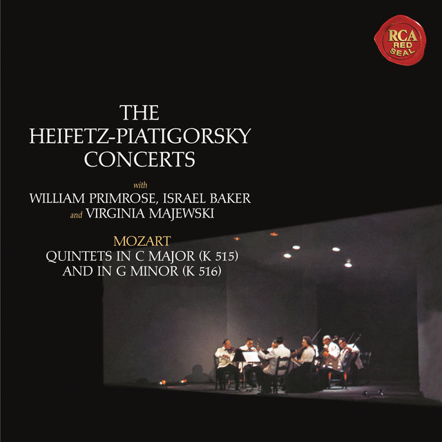 Mozart: String Quintets No. 3 in C Major, K. 515 & No. 4 in G Minor, K. 516 ((Heifetz Remastered))