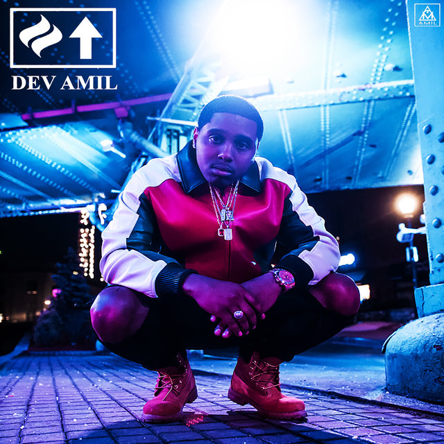 Cover art for album Heat Up by Dev Amil