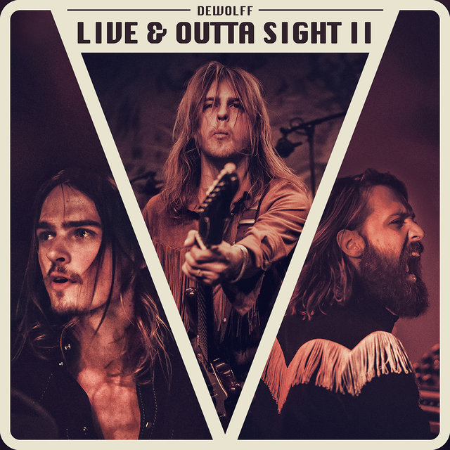 Cover art for album Live & Outta Sight II by DeWolff