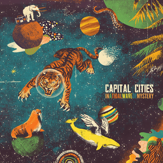 Cover art for album  by Capital Cities