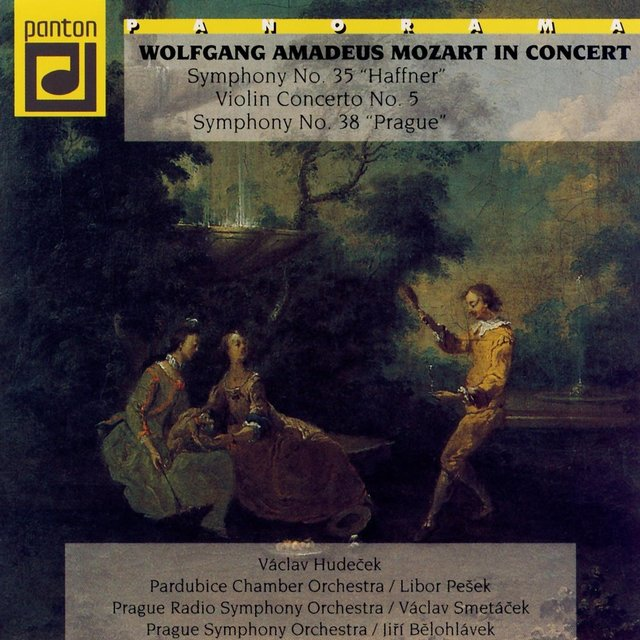 Mozart: Symphony No. 35, No. 38, Concerto In A Major