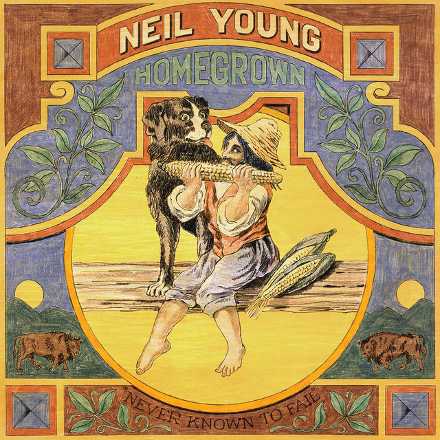 Cover art for album Homegrown by Neil Young