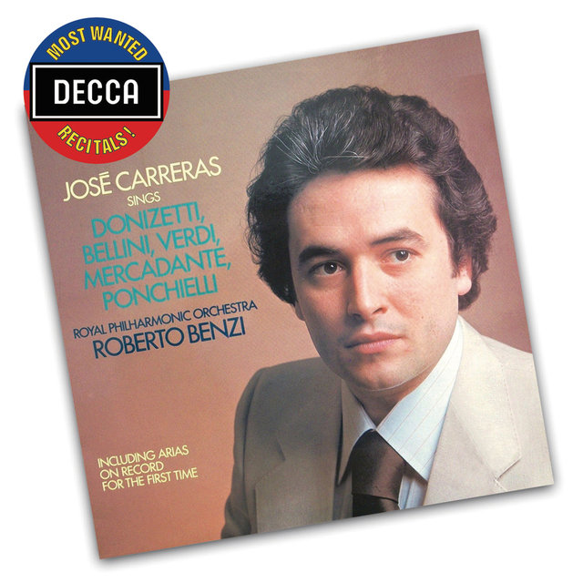 José Carreras Sings Donizetti, Bellini, Verdi, Mercadente, Ponchielli
