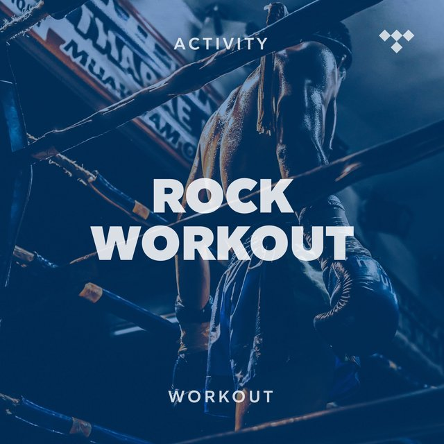Cover art for album Rock Workout by TIDAL