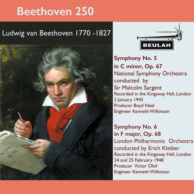 Beethoven 250 Symphonies 5 and 6