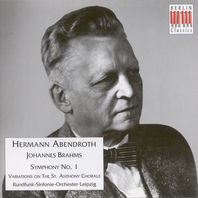 BRAHMS, J.: Symphony No. 1 / Variations on a Theme by Haydn,