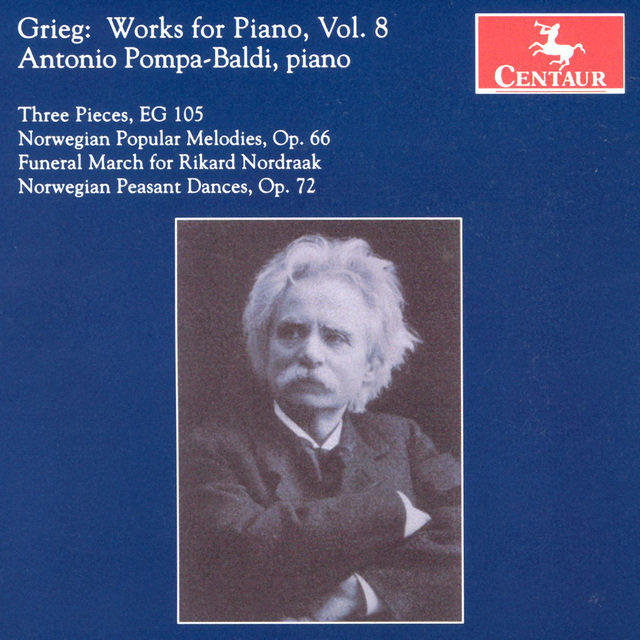 Grieg, E.: Piano Music, Vol. 8