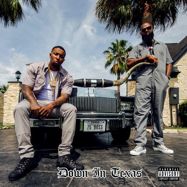 Cover art for album Down In Texas by Killa Kyleon, Slim Thug