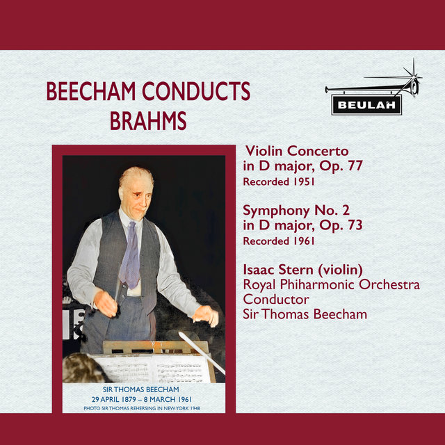 Beecham Conducts Brahms